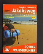 Jakobsweg Küstenweg Camino Del Norte Rother Wanderführer 2014 - Spain