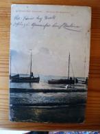 Borkum, Abend An Der Segelbugne, Gelaufen 1916 - Borkum