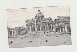 ROMA - PIAZZA SAN PIETRO - VIAGGIATA 1925 - SOPRASTAMPATI - Cent. 20 Su 25 CENT - San Pietro