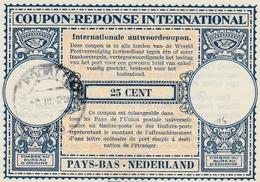 Coupon Réponse Pays-Bas Nederland - Type LO 14 - Antwoordecoupon IRC CRI IAS - Postal Stationery
