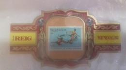 Bague De Cigare - Cigarette Ring - Vitola De Puro. - Bagues De Cigares