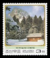 North Korea 2004 Mih. 4736 Kim Jong Il's Birthplace In The Secret Camp On Mt. Paektu MNH ** - Korea (Noord)