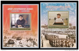 North Korea 2013 Mih. 6016/17 (Bl.865/66) 65th Anniversary Of The Victory In Liberation War. Kim II Sung MNH ** - Korea (Noord)
