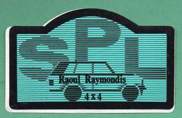 SPL RAOUL RAYMONDIS 4X4 - AUTO MOTO  RALLYE  /  AUTOCOLLANT - Autocollants
