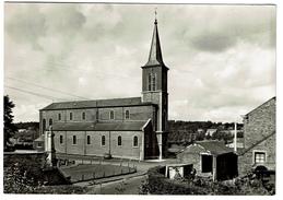 Haillot - L'Eglise, Edit. Boinon - Haillot  - Circulée - 2 Scans - Ohey