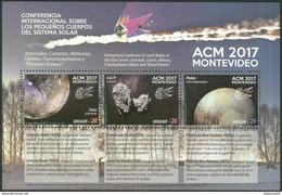Uruguay 2017 ** Conferencia ACM. Pequeños Cuerpos Del Sistema Solar. Espacio. See Desc. - Espacio