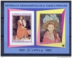 SAO TOME AND PRINCIPE Picasso (Not Dentate) - Sao Tome And Principe