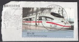 B981 Germania 2006  Inter City Express ET403 Germany Deutschland Su Frammento On Paper - [7] Repubblica Federale
