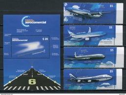 Argentina 2014 / Aviation Aircrafts MNH Aviacion Aviones Luftfahrt / Cu4607  18 - Aviones