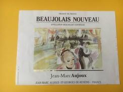 4821 - Beaujolais Nouveau Jean-marc Aujoux - Beaujolais