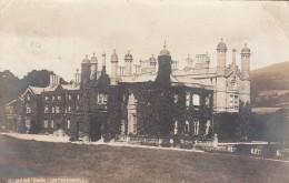 Crickhowell Area, Powys Wales UK, Glanusk Park, Baron Glanusk Estate House, C1900s Vintage Real Photo Postcard - Pays De Galles