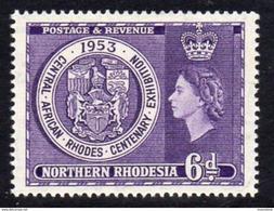 Northern Rhodesia 1953 Rhodes Centenary Exhibition, SG 59 (BA) - Northern Rhodesia (...-1963)