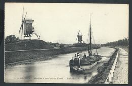 +++ CPA - BRUGGE - BRUGES - Moulins à Vent Sur Le Canal - Molen   // - Brugge