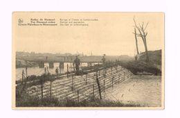 Ruines De Nieuport.Barrage Et Chemin De Communication. - Nieuwpoort