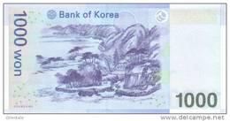KOREA SOUTH P. 54 1000 W 2007 UNC - Corea Del Sud