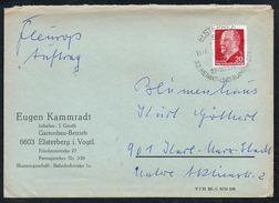 3347 - Beleg Brief - Bedarfspost - Gel 1971 - Elsterberg - Eugen Kammradt - Gartenbau Betrieb - DDR