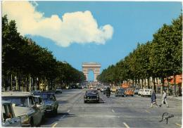 PARIS  Voiture  Citroen DS  Peugeot  Renault  Fiat - PKW