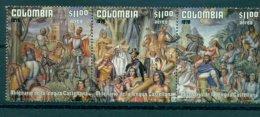 COLOMBIA 1978 Mi 1376-78 Strip Of Three** 200th Anniversary Of The Catalanian Language [L 2302] - Altri