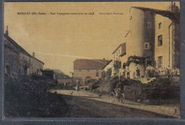 Carte Postale Toilée 70. Merçuai  La Tour Espagnole   Trés Beau Plan - Gray