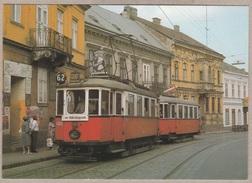 Wiener Stadtwerke-Verkehrsbetriebe Oldtimer - Triebwagen Typ M + Beiwagen Type M3 - Linie 62 Wien 12, Schloss Hetzendorf - Tramways