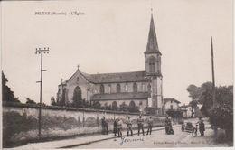 57 - PELTRE - L'EGLISE (signée Jeanne Robert Chez Mme Thomas Crêpy) - Autres Communes