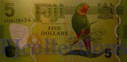 FIJI 5 DOLLARS 2012 PICK 115 POLYMER UNC REPLACEMENT - Fidji