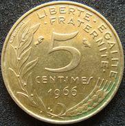France 5 Centimes 1966 - France