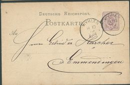 STEMPEL: Wyhlen. - Stamped Stationery 1879 - Germany