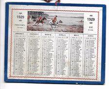 CALENDRIER Cartonné De 1929 - Format 12.7 X 10 Cm - Petit Format : 1921-40
