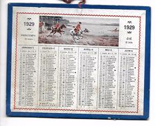CALENDRIER Cartonné De 1929 - Format 12.7 X 10 Cm - Calendars