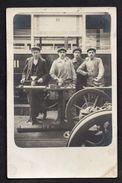 Unposted Card Showing Paris Omnibus/Tram/Railway Workers In 1913 See Scans - France