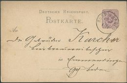 STEMPEL: Rust In Baden. - Stamped Stationery 1879 - Germany