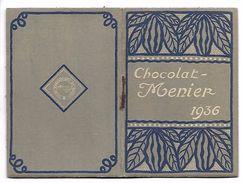 CALENDRIER 1936 - Format 6 X 18.5 Cm Fermé -  CHOCOLAT MENIER - Petit Carnet - Calendriers