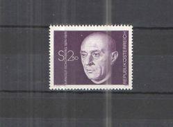 Austria 1974 Ritratto Schonberg Valore 01 Nuovo Scott.1001+ See Scans - 1945-.... 2a Repubblica