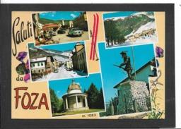 Foza (VI) - Viaggiata - Italië