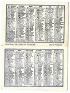 CALENDRIER 1967 - Format 12 X 9 Cm Ouvert - Boulangerie R. KASTLER - PARIS 19e - Calendriers