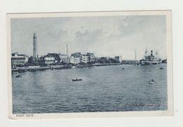 PORT SAID - VIAGGIATA 1936 -annullo PIROSCAFO CONTE GRANDE - ITALY POSTCARD - Port Said