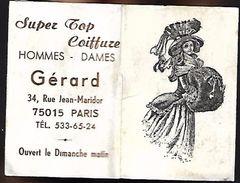 CALENDRIER 1976 - Format 3.5 X 5 Cm Fermé - GERARD Paris - Calendriers