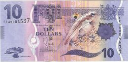FIJI 10 DOLLARS 2012 PICK 116 UNC - Fidji