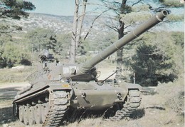 CPSM/gf  MILITARIA (13)  Camp Militaire De Carpiagne (près De Marseille). Char  A.M.X.30. ..G404 - Matériel