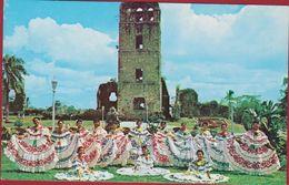 Panama Bellas Senoritas Folklorico Polleras La Vieja - Panama