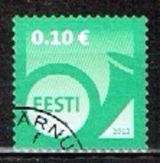 ESTONIE /Oblitérés/Used/2012 - Serie Courante / Cor De Poste - Estonie
