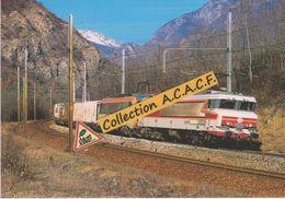CC 6573 + BB 26000 + Train De Combiné, à Saint-Julien-Montdenis (73) - - Trains