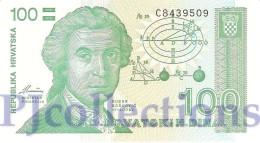 CROATIA 100 DINARA 1991 PICK 20a UNC - Croatie