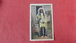 Sioux Chief Standing Bear Ref 2662 - Indiens De L'Amerique Du Nord