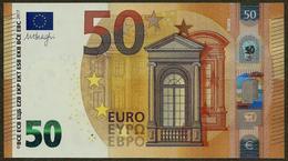 France - 50 Euro - U011 H5 - Draghi - UNC - EURO
