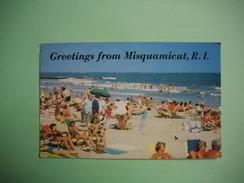 MISQUAMICUT  -  Rhode Island  -  Greetings From Misquamicut  -  ETATS UNIS - Etats-Unis