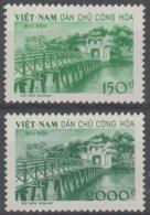 VIETNAM - 1958 Ngoc Son Temple Of Jade. Scott 86-87. NGAI - Vietnam