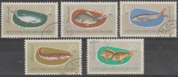 VIETNAM - 1963 Fish. Scott 263-267. Used - Vietnam