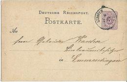 STEMPEL: Staufen,( Staufen Im Breisgau ). - Stamped Stationery 1879 - Germany